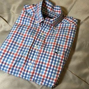 """{Vineyard Vines} colorful plaid """"Tucker"""" shirt"""